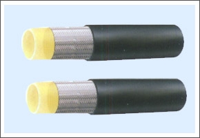 Hign&middle pressure synthetic fibre braided rubber resin hose